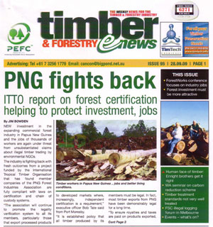 PNG FIA in the news in Australia